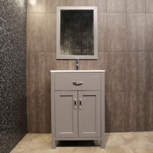 small grey vanity AG24c