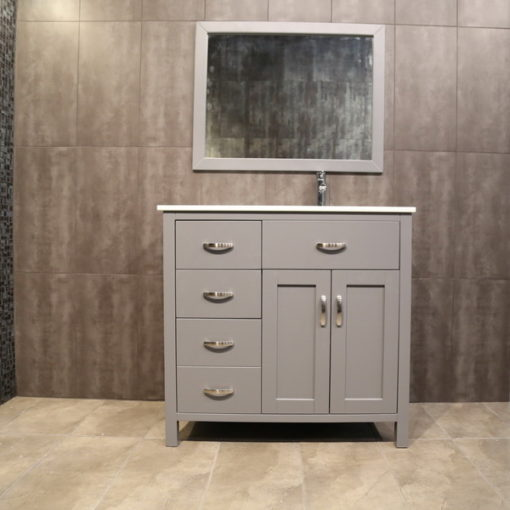 36 inch Grey Vanity AG36Rc