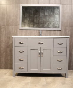 "48"" Dark grey vanity AG48Mc"