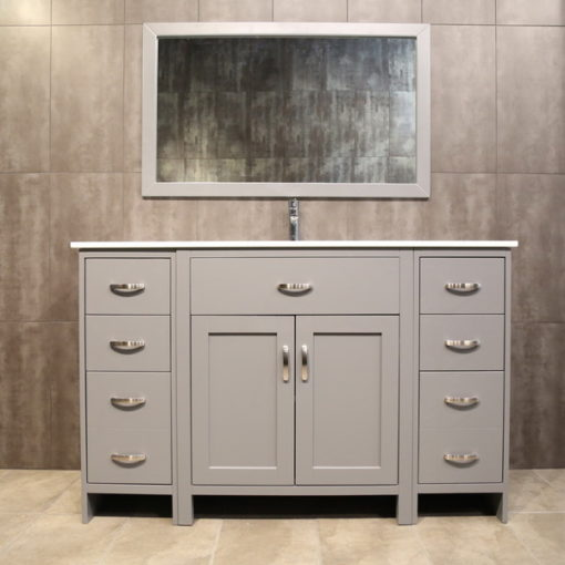 "54"" grey vanity AG54Mc"