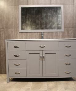 "60"" grey vanity AG60Sc"
