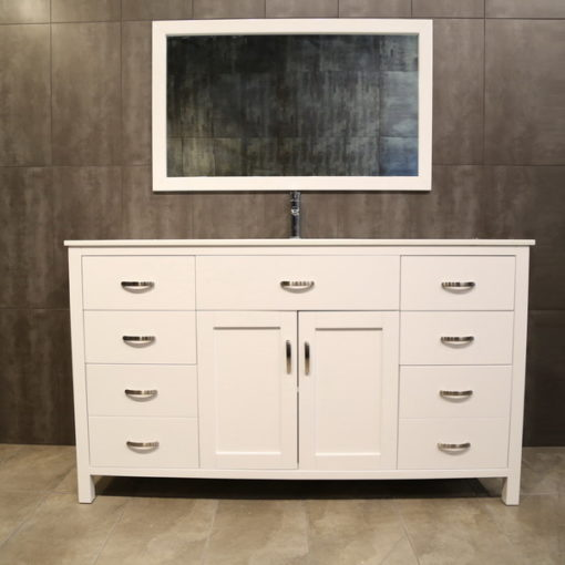 large white vanity LA60Sc
