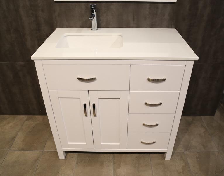 "36"" Vanity - UF36 Storage Cabinets Vanities | Perfect Bath ..."