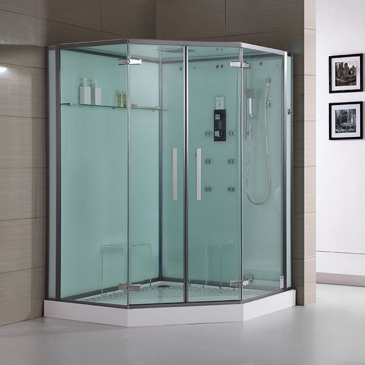 DZ995F8-WHite1 large steam shower